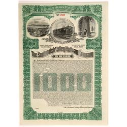 Snohomish Valley Railroad - Unissued Bond   (106433)