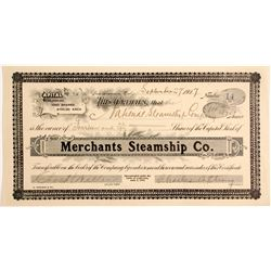 Merchants Steamship Co Stock   (83461)