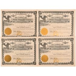 Nampa Automobile Co. Stock Certificates   (104246)