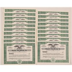 Seymour Ford-Mercury, Inc. Stock Certificates   (104430)