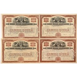 Durant Motors Inc. Stock Certificates   (104209)