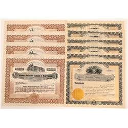 Rambler Automobile Company Stock Certificates   (104186)