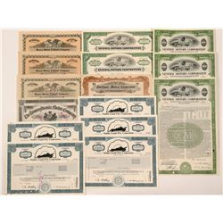 Automobile Bond & Stock Certificate Collection   (104431)