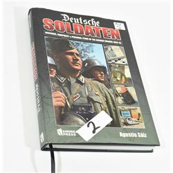 Deutsche Soldaten Hardcover Book