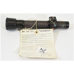 Canadian Forces Artillery Scope for