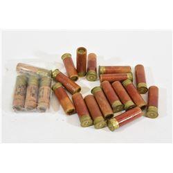 20 Rnds Vintage Paper Shotgun Shells