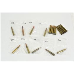 19 Rnds. 8 MM Mauser Collector Ammo