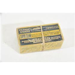 50 Rnds Vintage CIL 25 Short Stevens