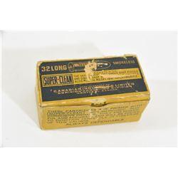 50 Rnds Vintage CIL 32 Long RF