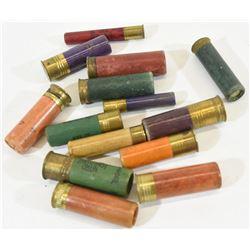 14 Rnds Vintage Shotgun Shells