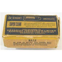 50 Rnds Vintage CIL 32 Short
