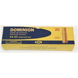 Rare Dominion 44-40 Winchester Shot Shells
