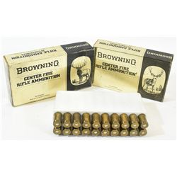 Vintage Browning Rifle Ammunition