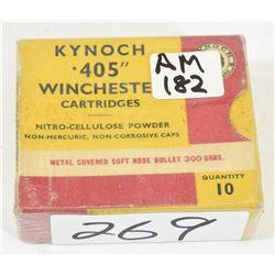 10 Rnds Kynoch 405 Winchester 300grn  Jkt SP