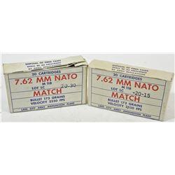40 Rnds Lake City 7.62 Nato US Match 173grn FMJ
