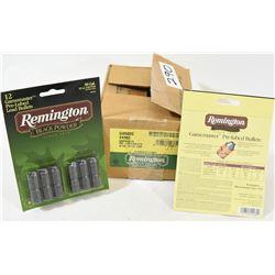 120 Rnds Remington 50 Cal  Lead Bullets
