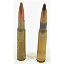 2 Rnds 50 Cal BMG FMJ