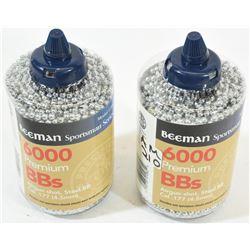 12000 Beeman 177 BBs