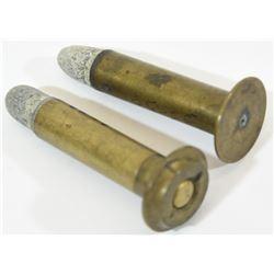 2 Rnds. Rare MAYNARD Ammunition