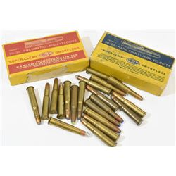 60 Rnds Vintage 30-30 Winchester J.S.P. Factory
