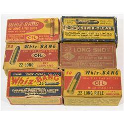 Vintage 22cal Ammo