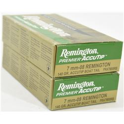 40 Rounds Remington 7mm-08 Ammo