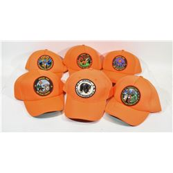 Box Lot Blaze Orange Hats