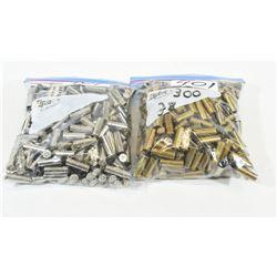 Over 500 38 Spl Brass
