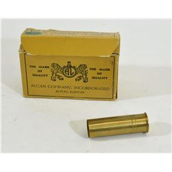 10 Pieces 12Ga Alcan Brass Hulls