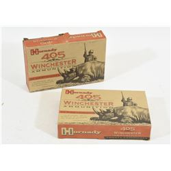 38 Rnds. 405 Winchester Ammo