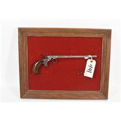 Replica of a Vintage Parlour Gun in Frame