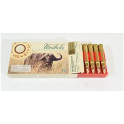 20 Rnds. 460 Weatherby Magnum Ammo
