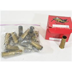 22 Pcs. 577 Snider Brass & 12 Projectiles