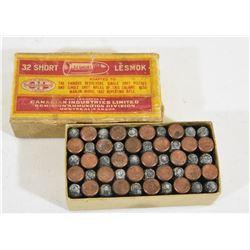 Vintage 32 Short Ammo