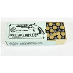 32 Short Rim Fire Ammo
