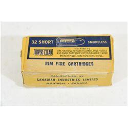 50 Rnds. 32 Short Rim Fire