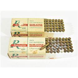 Remington High Speed 5mm Rim Fire Magnum