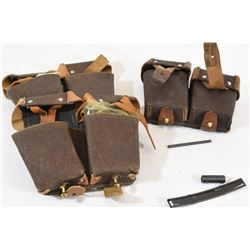 SKS Ammo Pouches, Tools amd Oil Cans
