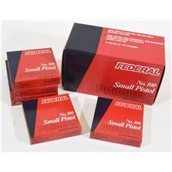 1500 Federal Small Pistol Primers No 100