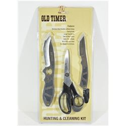 Taylor Brands Old Timer Hunting & Cleaning Kit