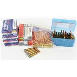 Box Lot 6.5 x 55 Swedish Ammo & Brass