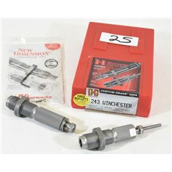 Hornady Die Set 243 Win