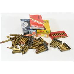 303 Brittish Ammunition, Blanks and Brass