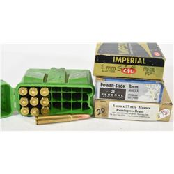 8mm Mauser Ammunition and Brass