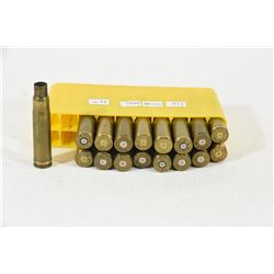 17 Pieces 338 Win Mag Brass