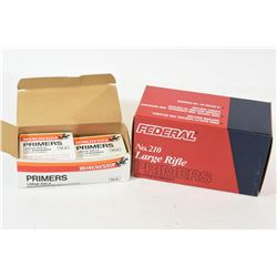 Winchester & Federal Large Rifle Primers