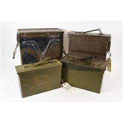Various Sized Ammo Cans
