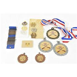 Box Lot Shooting Medals