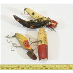 Four Vintage Lures