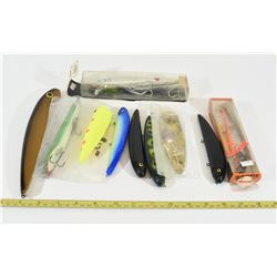Mixed Bag of Fishing Lures